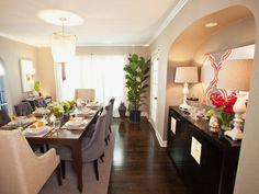 Transitional   Dining Rooms   Casey Noble : Designer Portfolio : HGTV - Home & Garden Television
