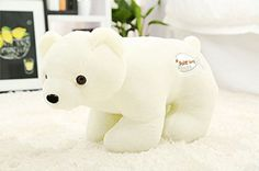 VERCART Children Sweet Polar Bear Animals Plush toy Baby Boy Girl Teen Toys Beige 14 *** You can get additional details at the image link.