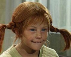 Pippi Langkous...Het vrolijke meisje met rode haren, twee staarten en sproeten die waanzinnig spannende avonturen beleeft...