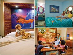 Art of Animation Resort!!! I want to stay in The Little Mermaid room!!!