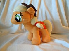 SALE 25% OFF 11 Custom Applejack minky and by furfactory on Etsy