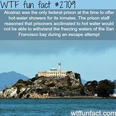 Alcatraz prison facts - WTF fun facts