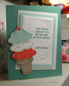 Stampin' Everything!: Sprinkles of Life Birthday Card