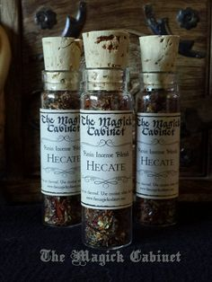 Hecate Incense to Invoke the Goddess, Hekate, Ritual Incense,Natural Incense, Greek Goddess, Incense, Loose Incense, Aromatherapy,Witchcraft