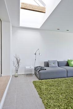 Luk lyset ind i boligen Roof Window, House Extensions, Windows, Living Room, Interior Design, Inspiration, Home Decor, Modern Living, Creative