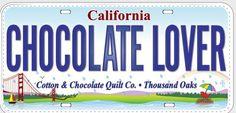 Cotton & Chocolate Quilt Company 1724 Avenida De Los Arboles, Unit E Thousand Oaks, CA  91362 (805) 241-0061 www.cottonandchocolate.com https://www.facebook.com/pages/Cotton-Chocolate-Quilt-Co/157462284291910