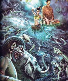 XIII. Mára legyőzése (The World of Lord Buddha: Life Story Of Lord Buddha)