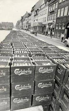 Carlsberg 1965 Ølstrejke Foto: Jens Glargaard.