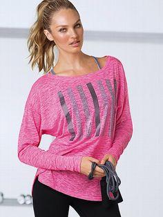 VSX Sport NEW! Long-sleeve Dolman Tee #VictoriasSecret http://www.victoriassecret.com/victorias-secret-sport/all-tops/long-sleeve-dolman-tee-vsx-sport?ProductID=88479=OLS?cm_mmc=pinterest-_-product-_-x-_-x