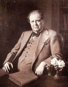Pietro Mascagni in later life