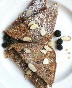 Ezekiel French Toast from the Tone It Up Nutrition Plan  ToneItUp.com/PLAN