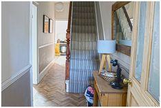 House Update: The Hallway Renovation - including this Polyflor Camaro Cambridge Parquet Vinyl Flooring Parquet Flooring, Vinyl Flooring, Camaro Flooring, Vct Tile, Peel And Stick Vinyl, Plank, Cambridge, Kitchen Dining, Big Project