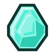 "5"" Tall Cartoon Diamond Decal"