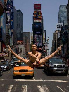 Yannick Labrun of the Alvin Ailey American Dance Theater