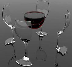 Insane Wine glass designs