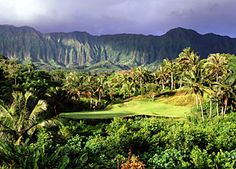 Luana Hills Country Club, Oahu   This place was amazing!  Closest we'll ever get to Jurassic Park.