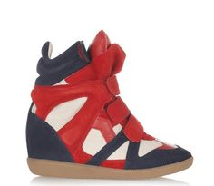 still obsessed with these Isabel Marant sneakers