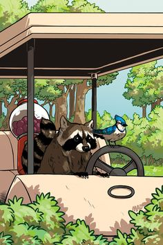 Regular Show #2 Comic - cover C