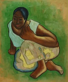 "Study for ""When Will You Marry"" by Paul Gauguin"