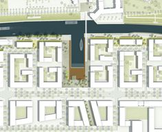 atelier-loidl Architecture Plan, Landscape Architecture, Urban Landscape, Landscape Design, Urban Concept, Urban Design Diagram, Urban Planning, Layout Design, Planer