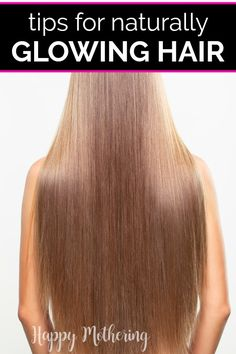 If you're looking for ways to improve the overall appearance of your hair, check out our tips and tricks for healthy hair. Learn how to choose the right hair products, how to use them correctly, lifestyle changes to consider and which essential oils can help when added to natural shampoo or other DIY beauty recipes. #hair #haircare #hairtips #hairproducts #essentialoils #diybeauty #naturalbeauty #naturalhair #hairgrowth #howto #diy #personalcare #beauty #beautytips #beautyproducts Natural Health Tips, Natural Skin Care, Natural Beauty, Natural Hair Styles, Long Hair Styles, Homemade Beauty, Diy Beauty, Beauty Skin, Beauty Hacks
