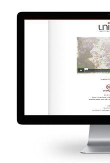 project unite - WEB by BANANA DESIGN