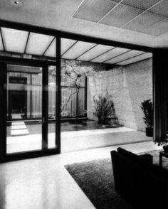 Philip Johnson, Rockefeller Guest house, New York, USA, 1949-1950
