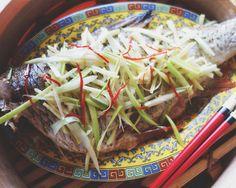 Ryba po kantońsku 粤式蒸鱼