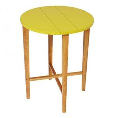 Ta-bl Side Table - Yellow