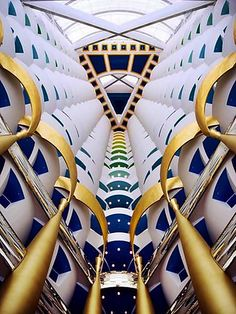 Inside the Burj Al Arab Hotel, Dubai