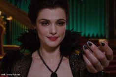 "Rachel Weisz as ""Evanora"" in OZ: THE GREAT AND POWERFUL http://hollywoodjunket.com/oz-the-great-and-powerful-movie-preview"
