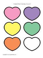Use this form to play a sorting game with candy conversation hearts.