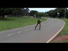 Ejercicios de Tecnica sobre patines - YouTube