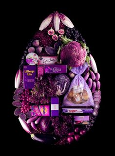 Colorful Food Styling by Linda Lundgren