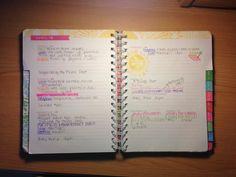 ||| agenda, schedule, time management, planner, study, student, university, college