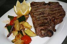 T-bone al grill.   -Restaurante HPC Porto Colom-
