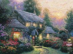 """Julianne's Cottage"", 1992."
