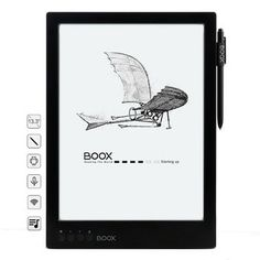 ONYX BOOX Max 13.3 Inch 1G+16G Flexible Screen 1600*1200 4100 mAh E-book Reader