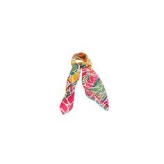 Lenço Big Floral Rosa Pink de Satin #lenços #lenço #scarf #scarfs