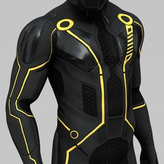 Tron Legacy Character Pose 2 Model available on Turbo Squid, the world's leading provider of digital models for visualization, films, television, and games. Character Poses, Character Outfits, Character Design, Escudo Viking, Tron Costume, Tron Art, Armor Clothing, Tron Legacy, Futuristic Armour
