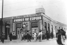 Pulqueria Amores de Cupido inmediaciones de la Lagunilla 1920s en ciudad de Mexico