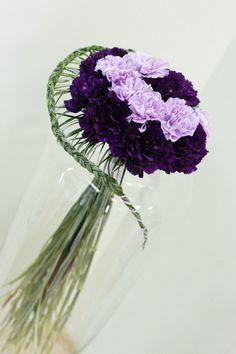 Гвоздики с косичкой | Блог флориста