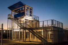 Do you need a pop up lounge at your next event? IPME has this incredible 3-story container structure available for rent!  Contact IPME at 1-866-237-6302 and we can design, engineer and fabricate your next event structure!   #ipme #lounge #viplounge #shippingcontainers #containerstructure #modular