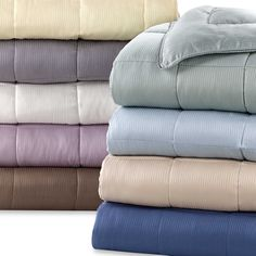 Eucalyptus Origins™ Down Alternative Blanket with Tencel® Cover