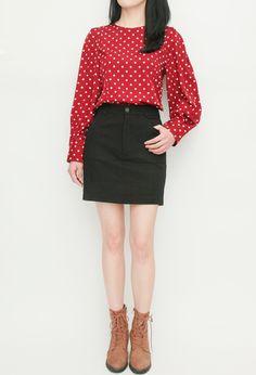 Jean Skirts, Mini Skirts, Online Fashion Boutique, Fashion Online, How To Wear, Women, Style, Swag, Mini Skirt