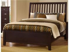 Shop for Vaughan-Bassett Slat Headboard, 5/0, BB8-551, and other Bedroom Beds at Union Furniture in Union,Missouri. Warranty Information.