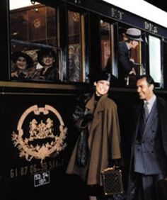 ♔ Boarding the Orient Express