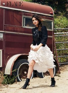 lucy hale photo shoot flare3 Western Style: 11 Cowgirl Fashion Shoots