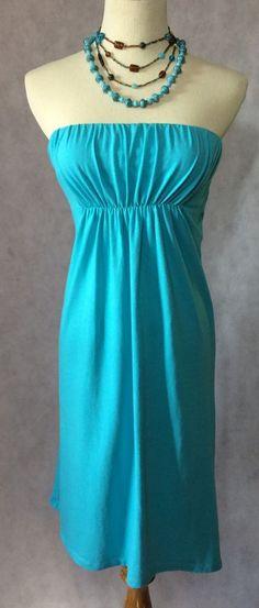 Victoria's Secret Turquoise Tube Dress Size M | eBay