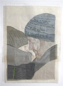 Emily Jo Gibbs embroidered portraits